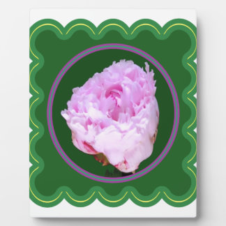 Pink Rose Flower Floral photo graphic on 100 gifts Photo Plaques