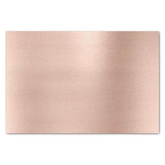 Pink Rose Gold Blush Metallic Powder Luxury Tissue Paper