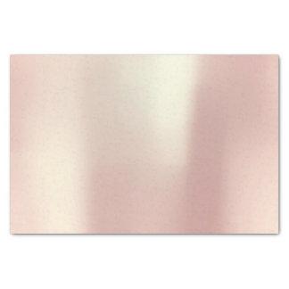 Pink Rose Gold Blush Metallic Powder Tissue Paper