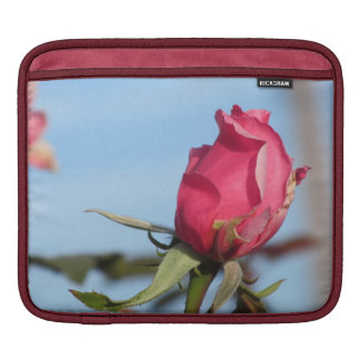 Pink Rosebud iPad Sleeve