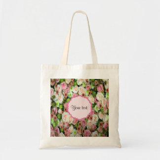 Pink  Roses & Chrysanthemums Tote Bag