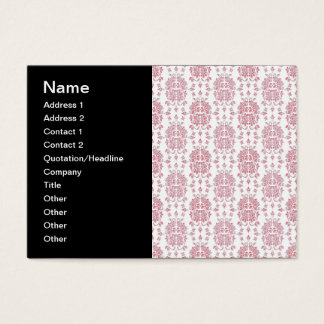 Pink Roses Floral Style Damask Pattern