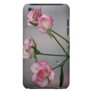 Pink roses, wild barely there iPod cases