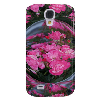 Pink Roses with Mirror Ball effect iPhone3 case