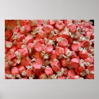 Pink Salt Water Taffy Print