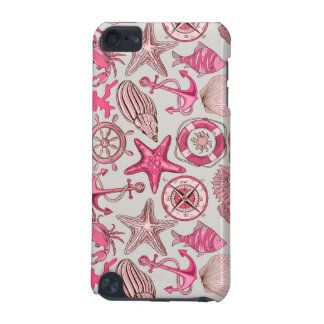 Pink Sea Pattern iPod Touch (5th Generation) Cases