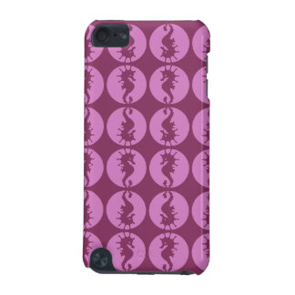 Pink Seahorses iPod Touch (5th Generation) Case