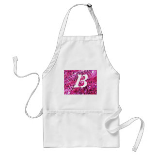 Pink Sequins Sparkle Customize add Text Fashion Aprons