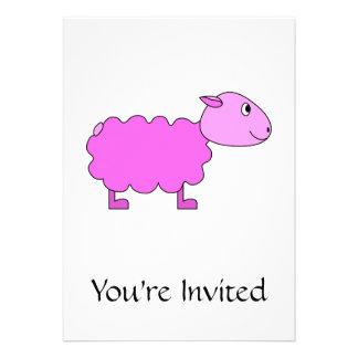 Pink Sheep. Invitation