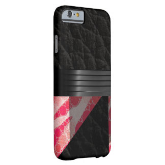 Pink Sherbert Zebra Abstract Barely There iPhone 6 Case
