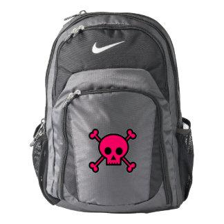 Pink Skull and Cross Bones Backpack