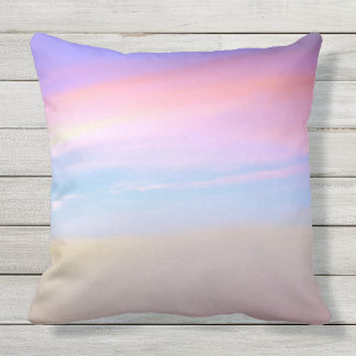 Pink Sky Outdoor Cushion