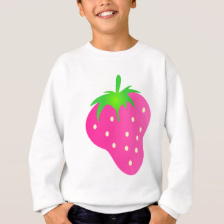 Pink Strawberry Bright and Cheerful Sweatshirt