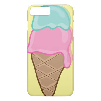 Pink Strawberry Mint Retro Summer Ice Cream Casing iPhone 8 Plus/7 Plus Case