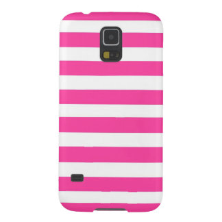 Pink Stripe Galaxy S5 Covers