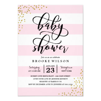 Baby Shower Invitations from Zazzle