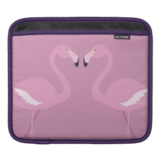 pink swan love ipad pad iPad sleeve