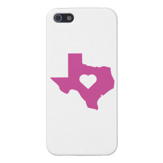 Pink Texas iPhone 5/5S Case
