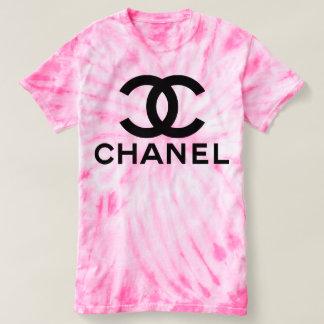 Pink Tie-dye coco tshirt