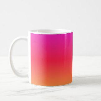 Pink to Orange Coffee Mugs