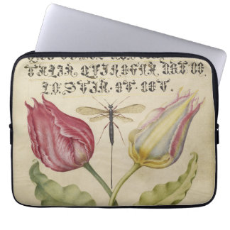 Pink Tulips Laptop Sleeve