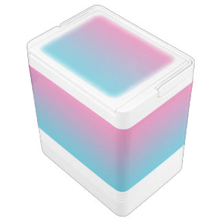 Pink & Turquoise Ombre Chilly Bin