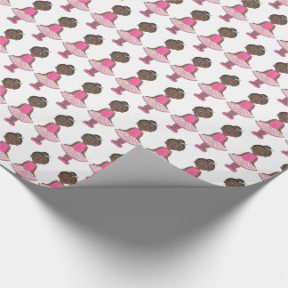Pink Tutu Ballet Birthday Dance Teacher Ballerina Wrapping Paper