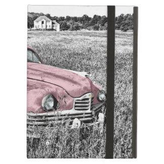 Pink Vintage Auto iPad Air Cases