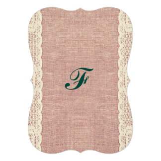 pink,Vintage, lace, burlap, grunge, victorian Cards