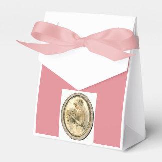 Pink Vintage Wedding & Bridal Shower Favor Boxes Wedding Favour Box