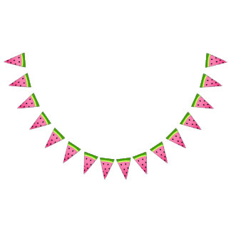 Pink Watermelon Bunting