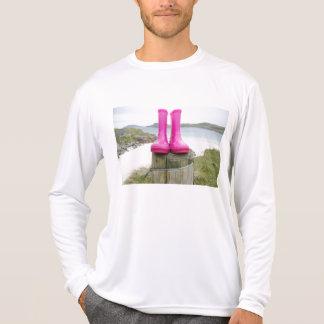 Pink Wellies T-Shirt