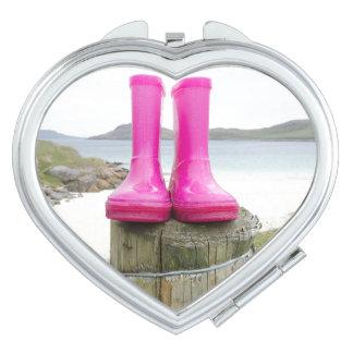 Pink Wellies Vanity Mirrors