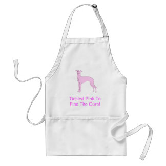 Pink Whippet Standard Apron