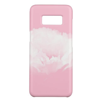 Pink White Peony Floral Samsung Case 2