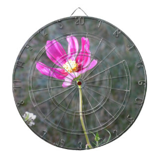 Pink Wildflower Dartboard