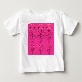 Pink wonderful Ornaments Folk design Baby T-Shirt