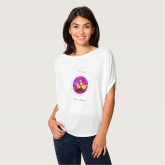 Pink Yellow Cattleya Orchid Mother's Day T-Shirt