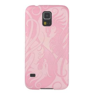 Pink Yin Yang Phoenix Cases For Galaxy S5