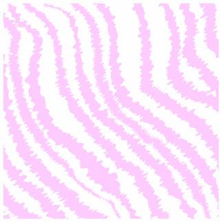 Pink Zebra Print, Animal Pattern. Photo Sculpture Decoration