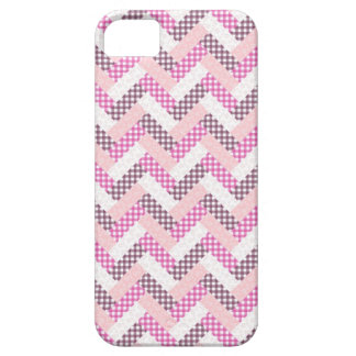 Pink Zig Zag Quilt Pattern Gifts for Her Case For The iPhone 5