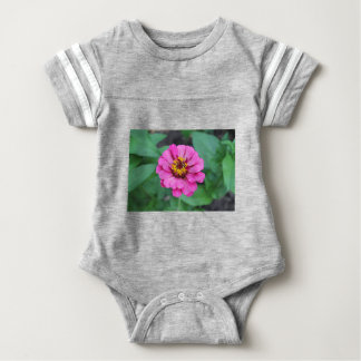 Pink Zinnia Baby Bodysuit
