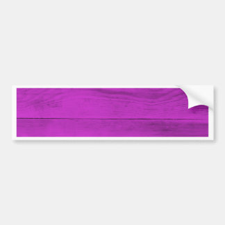 Pinke Wood Structure Bumper Sticker