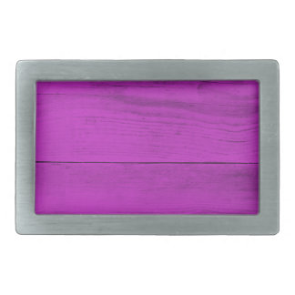 Pinke Wood Structure Rectangular Belt Buckles