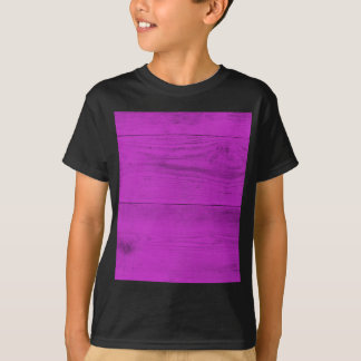 Pinke Wood Structure T-Shirt
