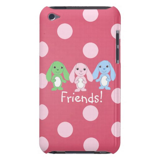 Pinky Bunny & Friends iPod Touch Case