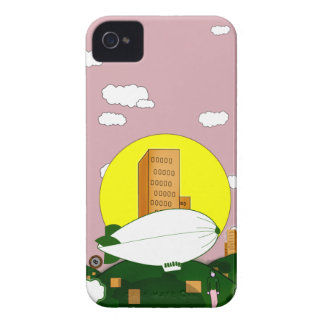 Pinky sky air balloon Case-Mate iPhone 4 cases
