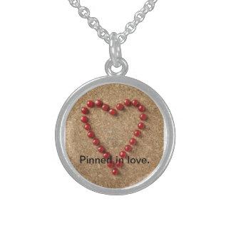 Pinned in love custom jewelry