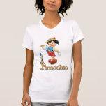 Pinocchio with Jiminy Cricket 2 Tee Shirts