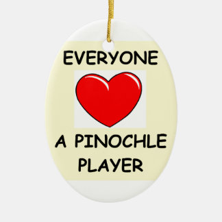 pinochle christmas ornament